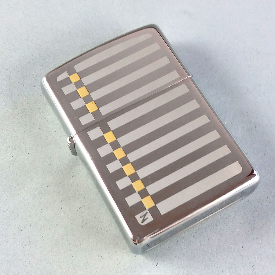 Zippo Upscale Jewelry Fashion Motif Limited Edition Lighter Unlit w/Box & Papers