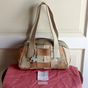 Radley Multi Colour Leather & Textile Shoulder Handbag w/Dust bag