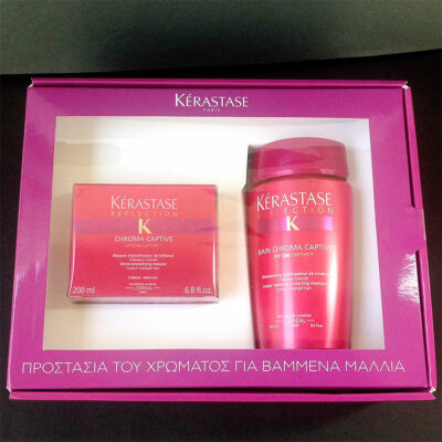 Kerastase Reflection Chroma Captive 200ml Masque & 250ml Bain Shampoo New in Box