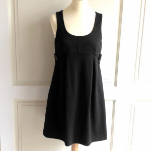 MICHAEL Michael Kors Black Size 8 Sleeveless Scoop Neck Dress