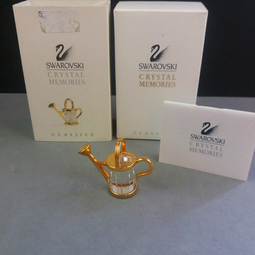 Swarovski Crystal Memories Watering Can in Box