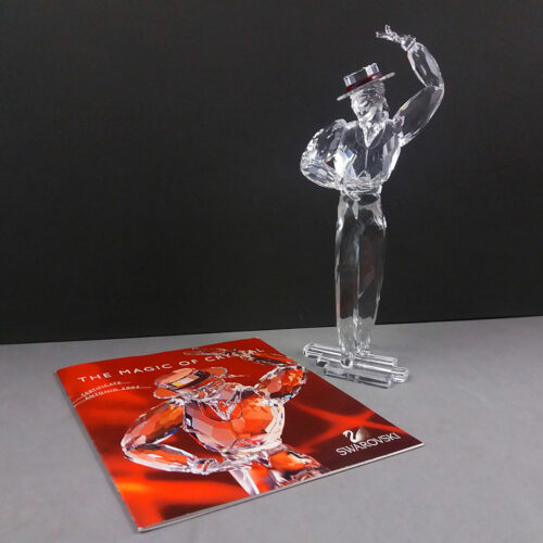 Swarovski SCS Magic Of Dance Antonio 2003 Annual Edition w/COA & Box