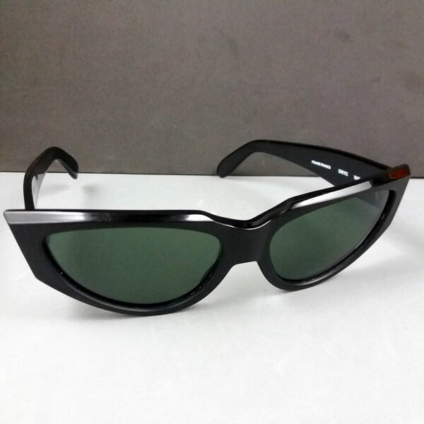 Ray Ban B&L WO 803 ONYX Thick Black Vintage Sunglasses Bausch & Lomb Made in France