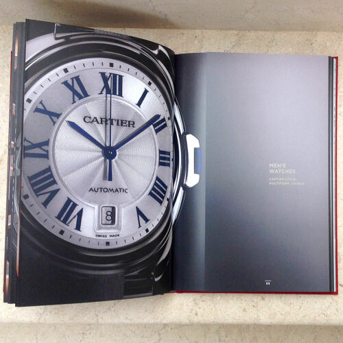 Cartier 2016 Watchmaking Collection Hard cover Book w/Original Gift bag