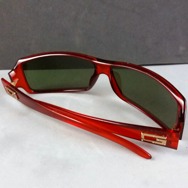 Gucci GG 2515S Vintage Authentic Optyl Red/Brown Designer Sunglasses