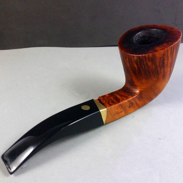 Mastro de Paja Fatta Mano Media 3A Pesaro Estate Tobacco Pipe