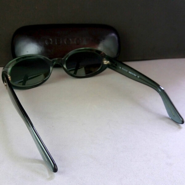 Gucci GG 2419/N/S Blue/Green Translucent Vintage Sunglasses w/Original Case