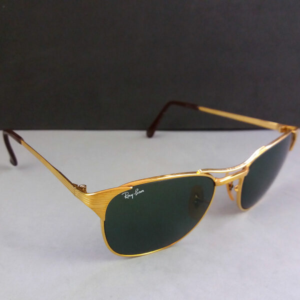 Ray Ban B&L Signet Gold Vintage Sonnenbrille Bausch & Lomb Sunglasses