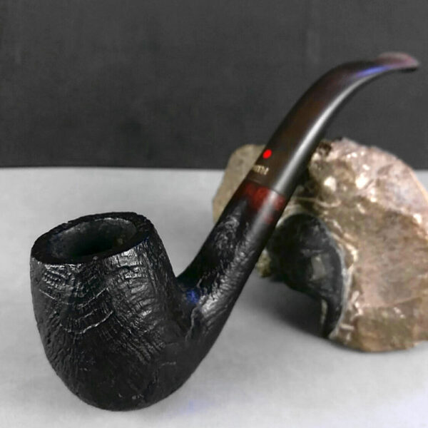 Dr Plumb's 5081 Bent Billiard Briar Estate Tobacco Pipe Pipa Pfeife