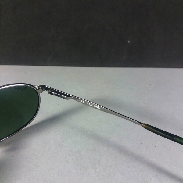 Ray Ban B&L W2841 Silver Frame Green Lenses Sidestreet Sunglasses Made in USA