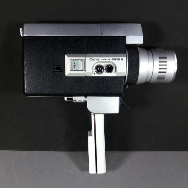 Canon Zoom 518 Super 8 Camera & C-8 1.8/9.5-47.5mm Lens Working Condition