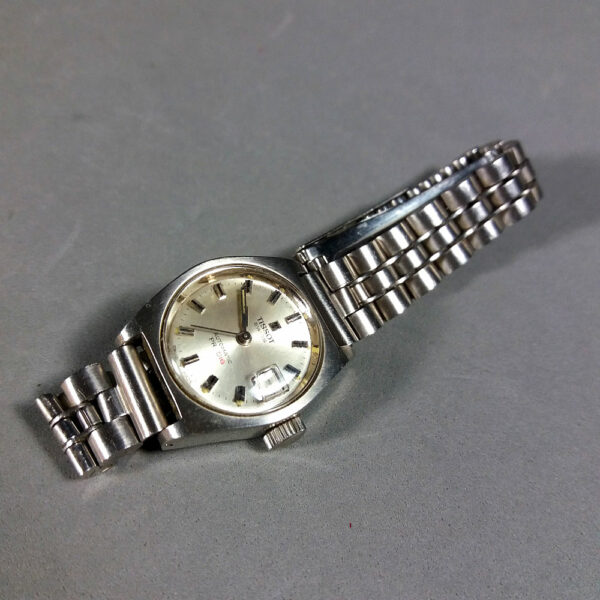 Tissot PR 516 Automatic Swiss watch w/Steel Bracelet Working