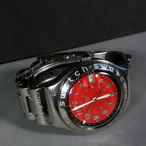 Swatch IRONY Stainless Steel Swiss Made Ladies Watch