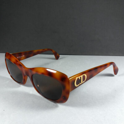 Christian Dior CD 2974 Tortoiseshell Color Vintage Optyl Sunglasses