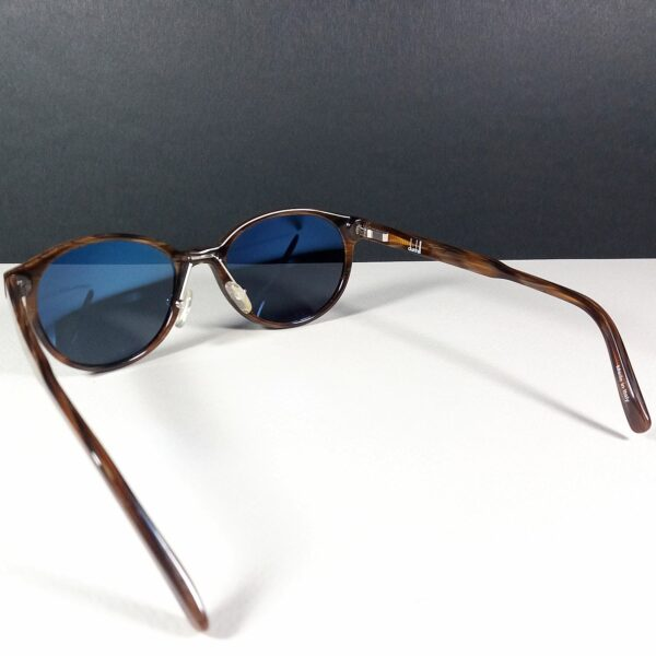 Alfred Dunhill of London Brown Wood Pattern Vintage Designer Unisex Sunglasses