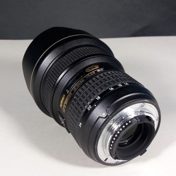 Nikon Nikkor AF-S 14-24mm f/2.8G ED SWM IF Aspherical Wide Angle Zoom Lens Boxed