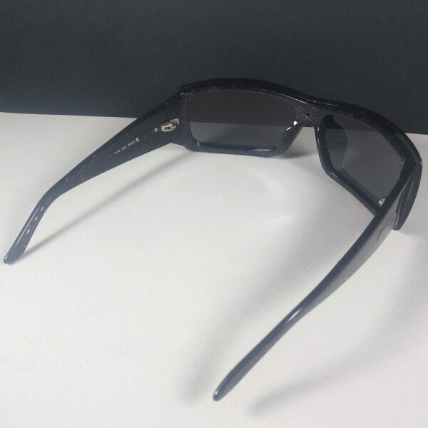 Max Mara MM 704/S 6Q9 Black Shield Vintage Designer Women's Sunglasses