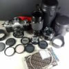 Canon AE-1 35mm SLR Camera w/50mm 28mm 70-210mm Lenses & Accessories Tested
