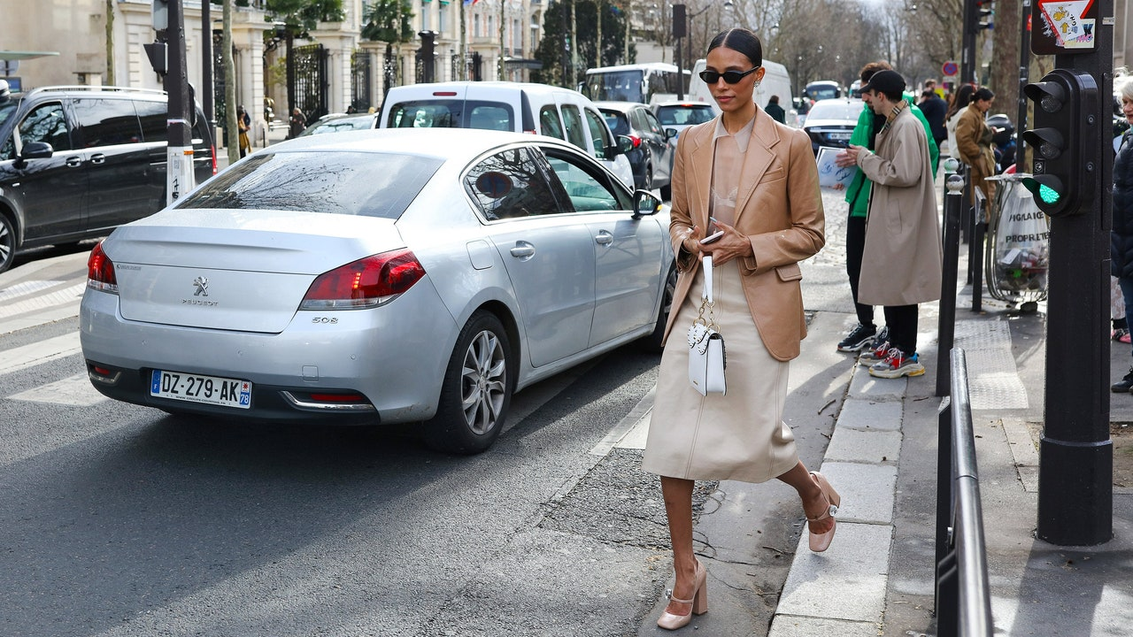 TyLynn Nguyen at the fall 2019 shows in Paris
