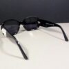 Chanel 5113 c.501/87 130 CC Logo Black/White Camellia Gradient Sunglasses