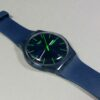 Swatch Blue/Green Swiss Made Vintage Unisex Watch