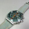 Swatch Stainless Steel 4 Jewels Chronograph Patented Quartz Watch Swiss Made