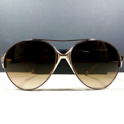 Givenchy Paris *3 SGV A12 Graduated Brown Col.0545 Unisex Pilot Sunglasses