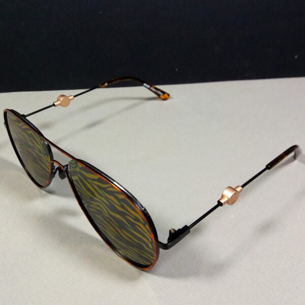 Kenzo KZ5129 C04 145 Multicolor Designer Pilot Sunglasses in Pouch