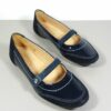 Tod's Girls Blue Wave Sport Flattie Junior Patent Leather 29IT Shoes in Box