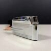 Ronson Varaflame Silver Vintage Lighter England Made w/Box Brush & Pouch