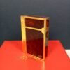 S.T. Dupont Gatsby Ecaille Brown Laque de Chine/Gold Lighter w/COA in Case & Box