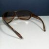 Ray Ban RB4081 710/13 Tortoise Brown Wrap Designer Sunglasses Made in Italy